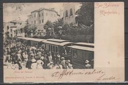 San Salvatore Monferrato - Arrivo Del Tramwai          (c494) - Alessandria
