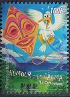 Tahiti 2018 Oblitéré Used Humour Le Pauma Le Cerf Volant SU - Tahiti