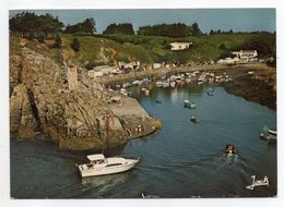 Ile D'YEU --1984 -- LA MEULE --Vue Aérienne --Le Port - Ile D'Yeu