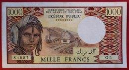 N°140 BILLET DE 1000 FRANCS DU TRESOR PUBLIC DE DJIBOUTI 1975 - Djibouti