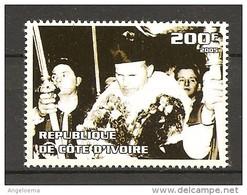 COSTA D'AVORIO - 2005 Papa GIOVANNI PAOLO II Nuovo** MNH - Papi