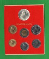 Vaticano Serie 1982 Giovanni Paolo II° Papa Anno IV° Vatikan State Set Completo - Vatican