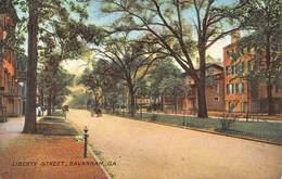 A-19-2558 :  SAVANNAH. LIBERTY STREET. - Savannah