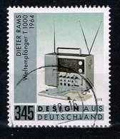 Bund 2018, Michel# 3400 O Design Aus Deutschland: Weltempfänger T 1000 - BRD