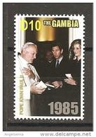 GAMBIA - 2005 Papa GIOVANNI PAOLO II Incontro Con Lady Diana E Il Principe Carlo Nuovo** MNH - Papi