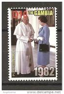 GAMBIA - 2005 Papa GIOVANNI PAOLO II Incontro Con La Regina ELISABETTA II Nuovo** MNH - Papi