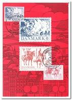 Denemarken 1981, Europe, Cept, Folklore - Cartes-maximum (CM)
