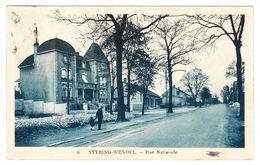 AK Styring- Wendel, Vue Nationale, Gel. - Forbach
