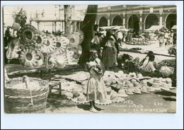 U5358/ Mexico  Vendedores De Sombreros Foto AK 1935 - Ansichtskarten