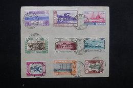 IRAN - Série Complète Du 10ème Anniversaire De La Prise Du Pouvoir Par Le Shah Riza Pahlavi En 1935 Sur Devant - L 23649 - Iran