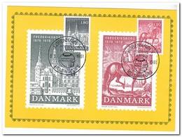 Denemarken 1981, ( Stamps 1978 ) Nordia - Cartes-maximum (CM)
