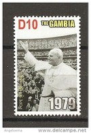 GAMBIA - 2005 Papa GIOVANNI PAOLO II Nuovo** MNH - Papi