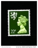 GREAT BRITAIN - 1984  SCOTLAND  22 P.  Type  II   PERF. 15 X 14  MINT NH - Regionali