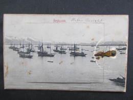 AK REYKJAVIK Island Leporello 1900  ////  D*36835 - Island