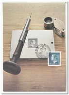Zweden 1981, PFA I Amsterdam ( Stamp 1974 ) - Cartes-maximum (CM)