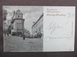 AK Bratislava Pressburg Pozsony 1900 Mondschein  ////  D*36836 - Slowakei