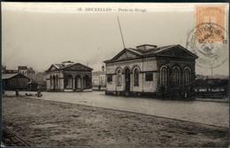 BRUXELLES :  Porte Du Rivage - Monumenten, Gebouwen
