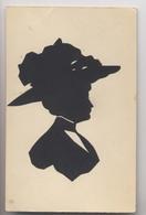 SILHOUETTE - Femme à Chapeau - Ombre Chinoise - Silhouette - Portrait Découpé - Hat Lady - Silhouettes
