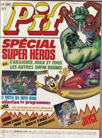 Rare Pif Gadget N°890 Spécial Super Héros Marvel - Pif Gadget