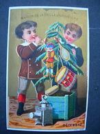 CHROMO  Lith F Appel LA BELLE JARDINIERE : MOIS : DECEMBRE / Victorian Trade Card - Autres