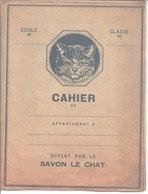 Savon Le Chat.Catox. Catou. - Buvards, Protège-cahiers Illustrés