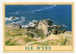 Ile D'YEU --1992 --Vue Aérienne -- Le Vieux Chateau  édifié Au 11° S - Ile D'Yeu