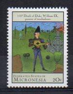 MICRONESIA. MILLENNIUM. 1000-2000 12TH CENTURY 1100-1150. MNH (2R4617) - Timbres