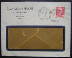 Lubersac (Corrèze) Établissements Léonce Blanc - 1921-1960: Période Moderne