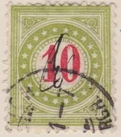 SUISSE Taxe:  Le ZNr 18E IIN - Portomarken