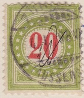 SUISSE Taxe:  Le ZNr 19Ga IIN - Portomarken