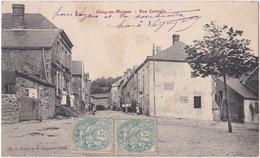 71. CUSSY-EN-MORVAN. Rue Centrale - Francia