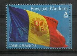 ANDORRA. La Bandera D'Andorra Any 1866.   NEUF ** Année 2019 - Andorra Francese
