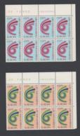 Francobolli S. Marino - Europa 1973 - Lire 180 - 2 Blocchi Da 8 - San Marino