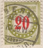 SUISSE Taxe:  Le ZNr 19Gc  IIK - Portomarken