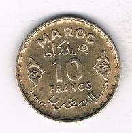 10 FRANCS 1952  MAROKKO /1565/ - Maroc