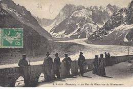 74  CHAMONIX MONT  BLANC  MONTENVERS MER DE GLACE Editeur: JULLIEN FRERES Numéro: JJ 8553 - Chamonix-Mont-Blanc
