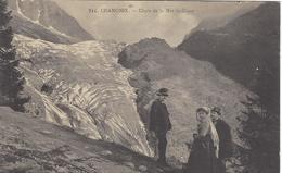 74  CHAMONIX MONT  BLANC  CHUTE DU GLACIER DE LA MER DE GLACE Editeur: GARDET Numéro: 834 - Chamonix-Mont-Blanc