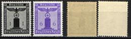 GERMANIA TERZO REICH - 1942 - AQUILA E CROCE UNCINATA - MNH - Germania