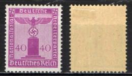 GERMANIA TERZO REICH - 1942 - AQUILA E CROCE UNCINATA - MH - Germania