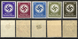 GERMANIA TERZO REICH - 1942 - CROCE UNCINATA IN UN CERCHIO - MH - Deutschland
