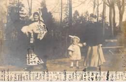 FAMILLES ROYALES Royal Families ( BELGIQUE ) Promenade Matinale Des Princes LEOPOLD Et CHARLES 1904 - CPA - Familles Royales