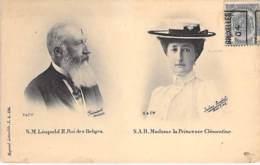 FAMILLES ROYALES Royal Families ( BELGIQUE ) S.M. LEOPOLD II Et S.A.R. La Princesse CLEMENTINE - CPA - - Familles Royales