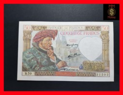 FRANCE 50 Francs 24.4.1941  P. 93  UNC- - 1871-1952 Antichi Franchi Circolanti Nel XX Secolo