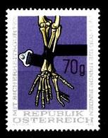 AUTRICHE 1975  Mi.nr.: 1483 Sicherheitsgurt  Neuf Sans Charniere-MNH-Postfris - 1971-80 Neufs
