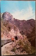 Ak Mexiko - Alta Sierra Tarahumara - Berglandschaft - Eisenbahn , Railway - Tunnel - Mexiko