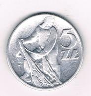 5 ZLOTY 1959 POLEN  /1574/ - Poland