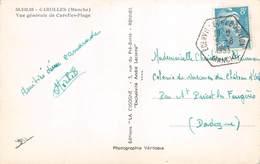 A-19-2599 : CACHET MANUEL HEXAGONAL. EDENVILLE  COMMUNE DE BOUILLON. 5 AOUT 1953. MANCHE. - Marcophilie (Lettres)