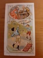 Chromo Chocolat Suchard Tennis Le Jeu Jadis Et Aujourd'hui - Suchard