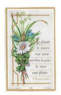 IMAGE PIEUSE...édit. Bonamy Pl 28... Le Plaisir De Mourir Sans Peine... - Images Religieuses