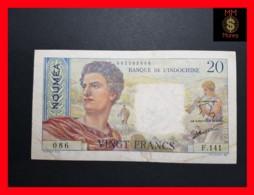 NEW CALEDONIA  NOUMEA 20 Francs 1951  P. 50  VF - Nouméa (New Caledonia 1873-1985)